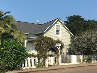 Mendocino Village Home, Walking to most all.  Jan, Feb sale. 4 for 3 Ask!