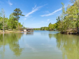 Beautiful waterfront home on Lake Martin! Perfect for family and friends!!!