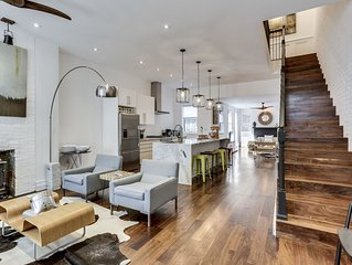 Historic Rowhouse with Modern Touches - Best Location - Plus Off Street Parking