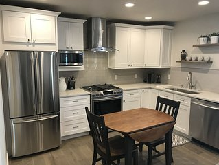 Stunning, Brand New, One-Bedroom Apartment. Steps from Denver City Park!