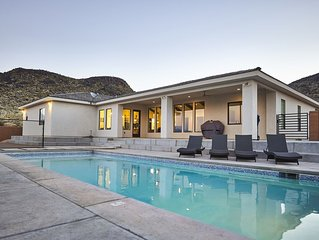 Modern House w/ Private: Pool, Pickleball St. Zion George Sandhollow Sleeps 12+
