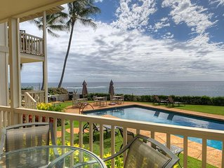 Alihi Lani 2:  2 Bedroom, 2 Bath Oceanfront!! Vacation On Kauai!!