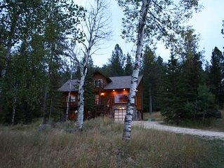 Black Hills Diamond Dale Vacation Log Home Cabin