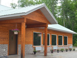 located 15 minutes from Munising/Pictured Rocks- right on Snowmobile/ ATV Trail