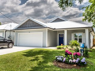 New! Walk to the Beach from a New Build Vacation Beach Bungalow- Plus Golf Cart!