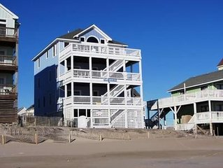 10% Off 2020 OCEANFRONT 5 BR Elevator & game room  LOCATION LOCATION LOCATION