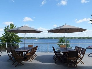 Upscale Executive Cottage on Beautiful Lake Muskoka - RATE PER NIGHT IS IN US$