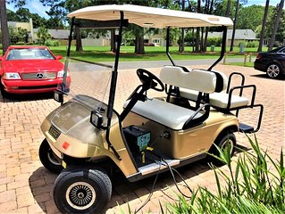 Free Golf Cart! SPRING SPECIALS Beautiful Lake views!Minutes to BEACH!Free WiFi