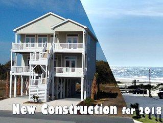 BUILT IN 2018 -- GREAT OCEAN VIEWS -- 5 Bedroom, 5.5 Bath, 2 Living Rooms