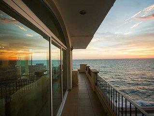 AMAZING oceanfront views! Beautiful 3 Bedroom Condo in Tiara Sands, Mazatlan!