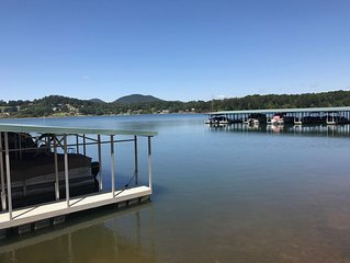 Luxury Lakeside Townhome on Lake Chatuge near Hiawassee Georgia