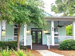 New Property in Cassine Village, Seagrove Beach, 5 minute walk to the beach!