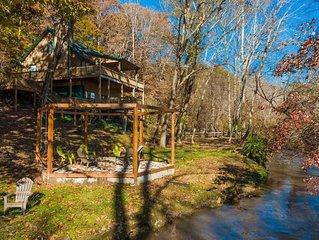Arkaquah Creek Retreat!