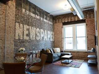 1 BR NEWLY RENOVATED LOFT DOWNTOWN KANSAS CITY IN HISTORIC BUILDING