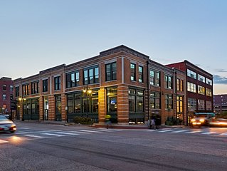 1480sq Ft 2Br/2Ba Loft Downtown Kansas City In Historic Building