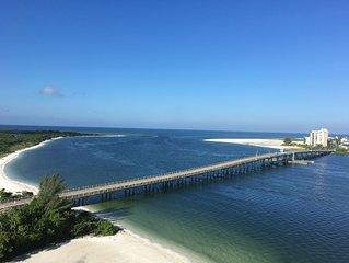 Private beach! Balcony & ocean views! Pool & hot tub! Lovers Key Beach Club 1108