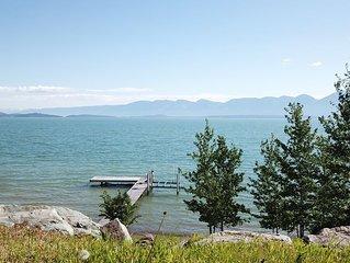Flathead Lake Shoreline Vacation Home
