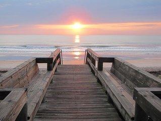 Oceanfront Retreat - Family Beach Getaway!  Perfect Location for Sun & Fun!