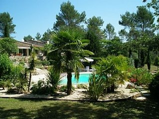 Fabulous Stone Villa With Private Large Heated Pool And Private Tennis Court