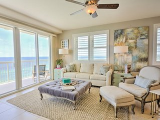 Gulf Front Wraparound Balcony~Celadon Beach Resort~ Short Stays Available! �