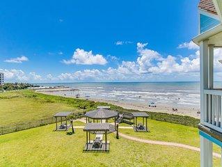 Seascape - Barefoot Bliss - 2/1.5 bath beachfront condo!