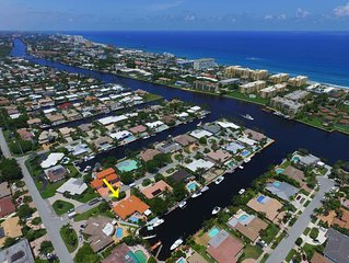 Waterfront South Florida Getaway! Close to Boca and Ft Lauderdale!