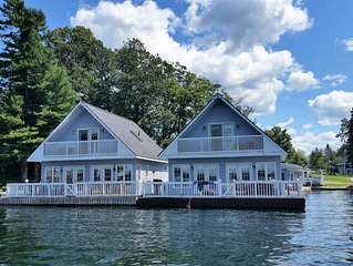 Lighthouse Cottage - This cottage is floating in the Heart of the 1000 Islands
