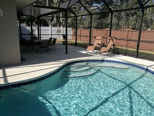 3BR Vacation Heated Pool Home, Bradenton, 7Miles To Anna Maria Beaches