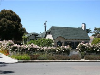 Historic Del Mar Village Cottage