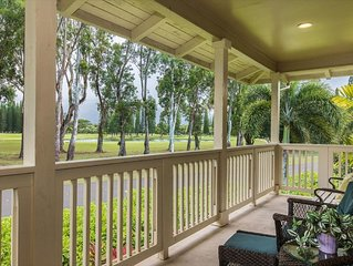 Air-Conditioned Well-Appointed Condo on 18th Fairway of Makai Golf Course