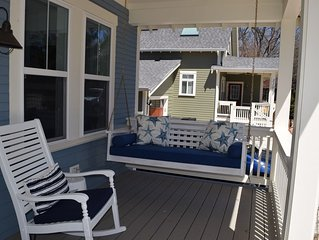 Newer luxury cottage with heated pool near town & beach.  Outstanding reviews!