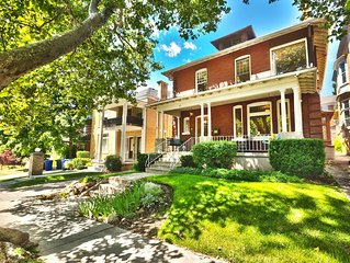 Historic home in the lower Avenues, 3 blocks to Temple Square and City Creek.