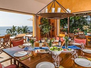 Villa Avanti at Four Seasons Punta Mita –5BDR– Ocean view, beach, tennis & golf