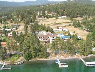 Flathead Lake and Mountain Views