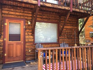 Newly UPDATED Cabin #2 in Lemmon Lodge! Location, location, location!!!