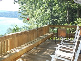 Gorgeous Lakeview with  Private Dock on Lake Glenville (Pet Friendly)