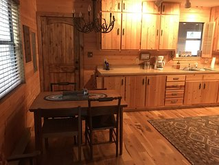 NEW LISTING!  Ride-In/Ride-Out Cabin located in St. Elmo, CO.