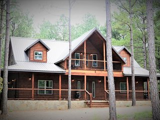 'Take it Easy'  Western Luxury Cabin in Beavers Bend