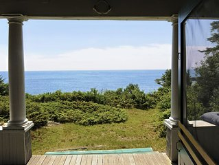PRIVATE OCEANFRONT RETREAT - enjoy the peace and quiet of an historic Maine home