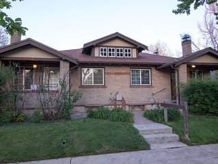 Superlative, large property near downtown, Private Patio, Fire Pit