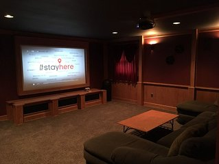 Theater Room, Game Room, Hot Tub, Family/Group Friendly, Private Location