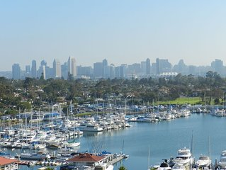 New!  Corondo Shores Condo -Stunning  Bay, Marina  & Ocean Views!