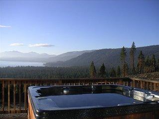 BIG Lake Views -10 Bedroom / 8 Bath -Beach Access -Sleeps 22+ - Pets Ok!