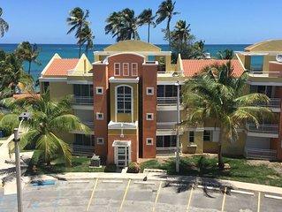 Villas Del Mar 3BR/2BA Penthouse on RIGHT ON BEACHFRONT! UNBEATABLE BEACH VIEW!