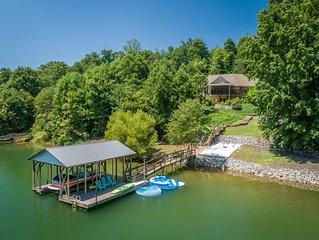 Lake James Retreat:  Spacious Private Lake front Home
