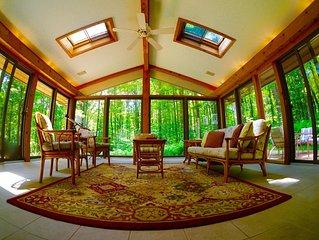 Exceptional Modern Meets Cabin Home Near Boyne Highlands and Nubs Nob Sleeps 14