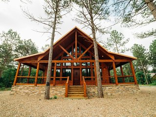 One of these Nights Cabin - NEW! 1 BR Gorgeous Honeymoon Lodge sleeps up to 4