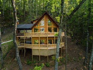 Sky High Lodge - Blue Ridge Mountains / Spectacular Lake Views! / ASKA ADVENTURE