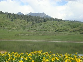 Mountain Retreat With Pond Bordering National Forest