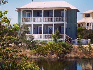 NEW Romantic Dragonfly Cottage with Deeded Beach Access! Water View!